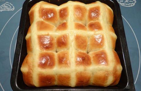 Воздушный картофельный хлеб