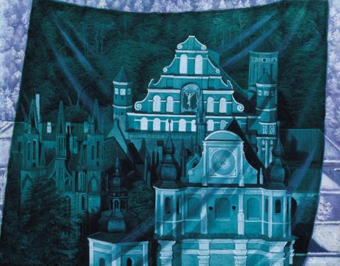 Театр истории. Вильнюс. Храм святой Анны