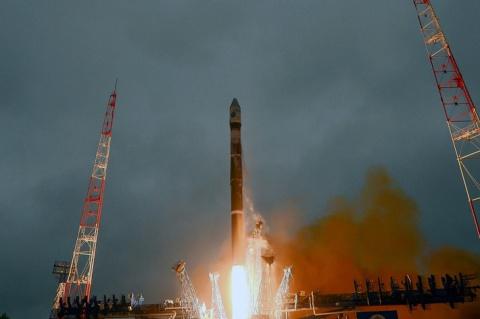 РН Союз-2 вывел космический аппарат министерства обороны на целевую орбиту