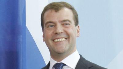 Медведев отказался съесть пр…