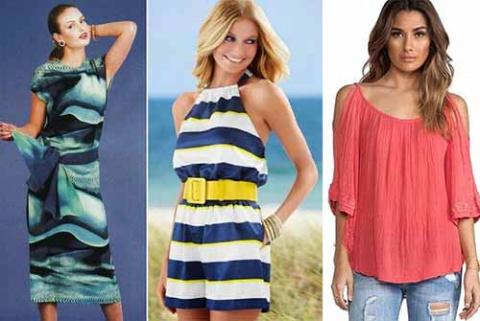 простые выкройки женской летней одежды