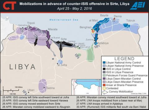 Британский спецназ SBS в Ливии