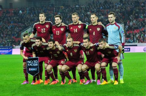 Россия занимает 18-е место в новом рейтинге УЕФА