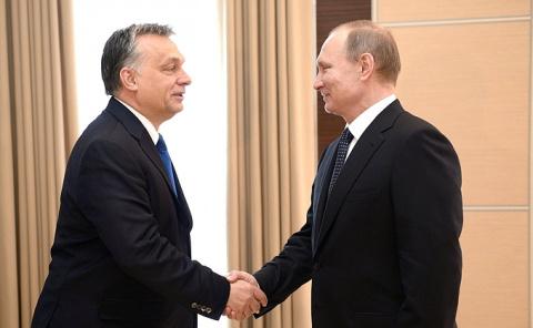 Встреча с Премьер-министром Венгрии Виктором Орбаном - Новости, 17 февраля, среда