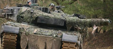 Бундесвер восстановит «ржавые танки» в попытке угнаться за Россией