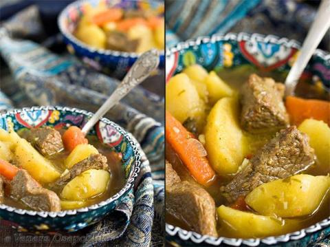 "Соус, или суп-жаркое, или кыздырма аш, или ""Чудный"" суп"