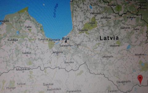 Еврокирдык в национальном прибалтийском орнаменте