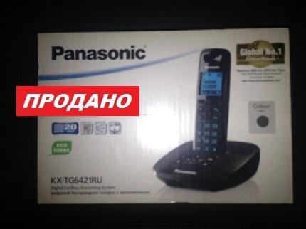Цифровой беспроводной телефон с автоответчиком PANASONIC