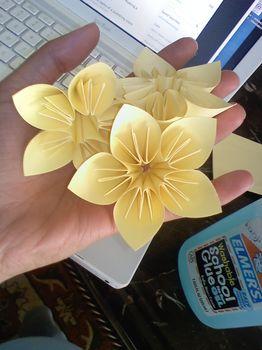 САМОДЕЛКИ. Цветы в технике оригами