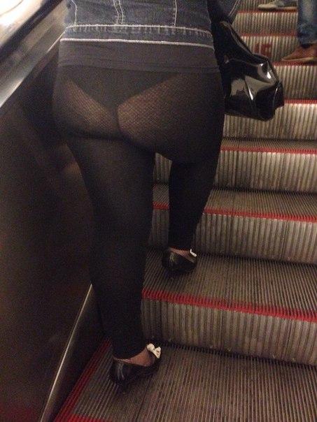 «Модники» в московском метро…