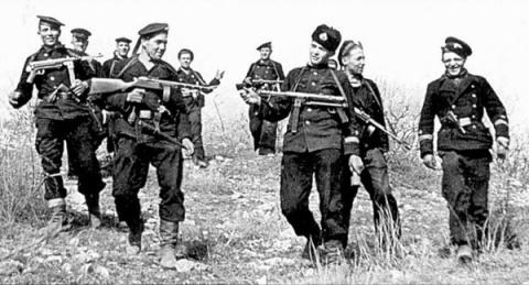 Русская морская пехота: «Там…