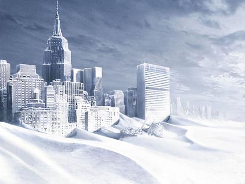 Климат перевернулся. Замерзш…