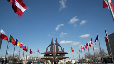 Опрос: на Украине растет число противников вступления страны в НАТО