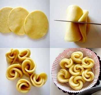Как красиво сформировать булочки фото