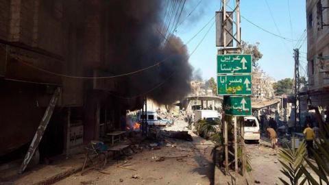 Сирия итоги за сутки на 30 апреля 06.00: война между боевиками охватила Восточную Гуту, ИГ напомнило о себе в Восточном Каламуне
