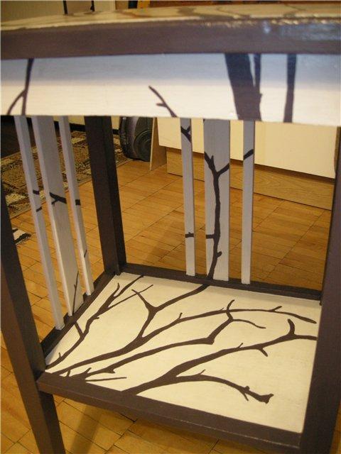 Деревья на тумбочке