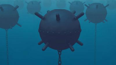 Финские военные взорвали мор…