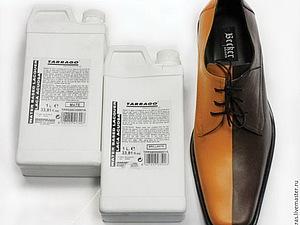 Покраска обуви акрилом