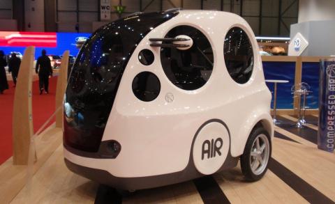 AIRPod: пневмоавтомобиль, который уже можно купить на Гавайях