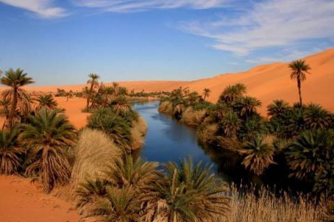 Самые красивые оазисы мира