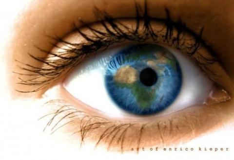 Помоги себе сам: тонкая кожа вокруг глаз