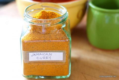 Специи и пряные травы. Ямайская карри-приправа