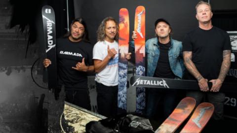Лыжи имени Metallica