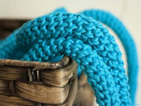 круглый шнур крючком