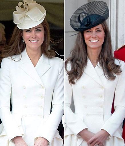 """""""Одинаковая"""" Кейт: 11 модных образов герцогини Кембриджской"""