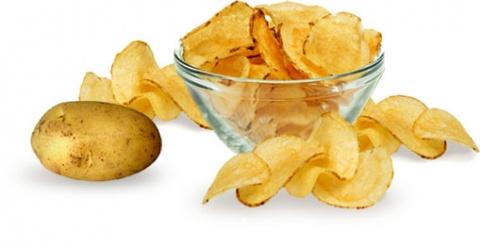 Как приготовить картофельные чипсы в духовке?
