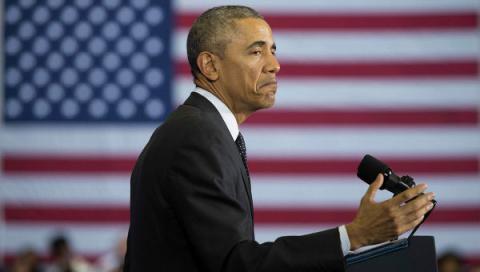 СМИ: Обама парализован кризисом на Украине и ошеломлен мощью России