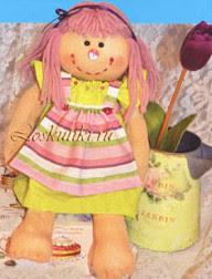 Кукла из носков своими руками