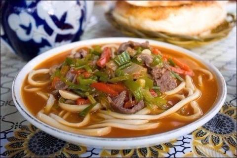 Лагман- узбекский густой суп…
