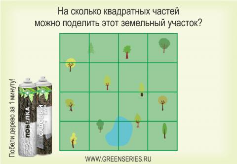 сколько квадратов, на сколько частей можно поделить квадрат, зеленая серия, аэрозольная побелка
