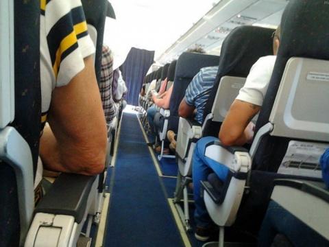 Прикол в самолете, из-за кот…
