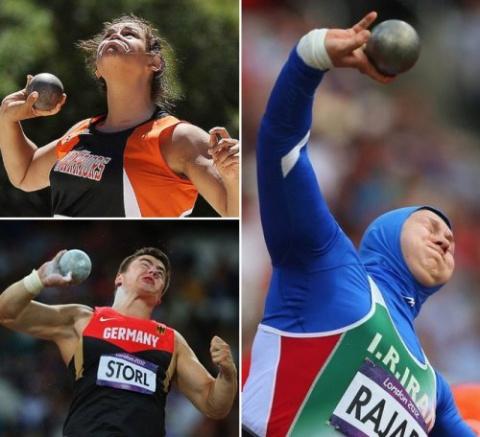Забавные лица спортсменов во…