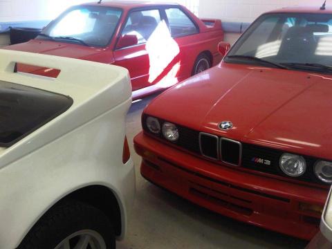 Гаражная находка века: 2 новых BMW M3 E30, дорожная версия Ford RS200 и Mercedes 190 Evo II