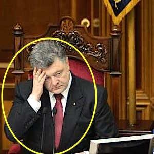 У Порошенко отвисла нижняя губа и началась истерика после кадров из Сирии