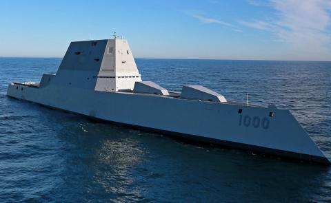 Замволт: как устроен первый стелс-эсминец США