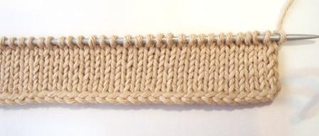 Легкий набор петель при помощи крючка. МК