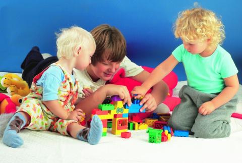 Игры с детьми. Чем занять детей дома.