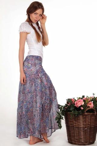Летние юбки и блузы с просты…