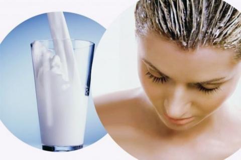 Лечение волос кисломолочными продуктами