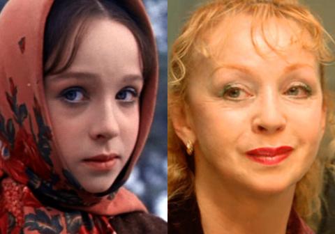 Актёры фильма «Морозко»  50 лет спустя.