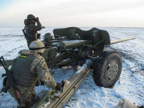 При обстреле ДНР украинские каратели повредили ЛЭП, ведущую наУкраину