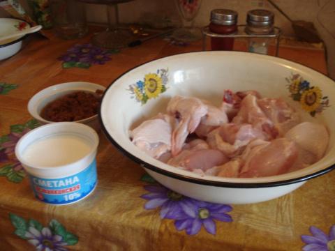 Курица по рецепту прабабушки