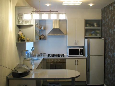 СтройРемПлан. Кухонная серия. Подбор и расстановка мебели в хрущевской кухне