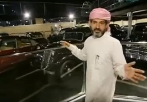 Самый дорогой в Мире ГАРАЖ арабского шейха и его черный паук