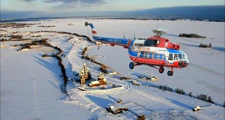 Вертолётом на остров Кижи