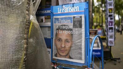 Спецслужбы Франции считают, что главный подозреваемый впарижских терактах убежал вСирию